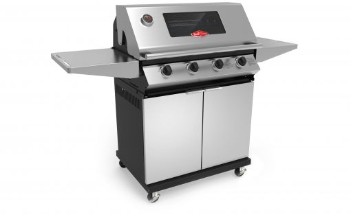 BD4202SX BeefEater 4 Burner Chrome Chassis Gas Barbecue 1000 Series 1 | Avant Garden