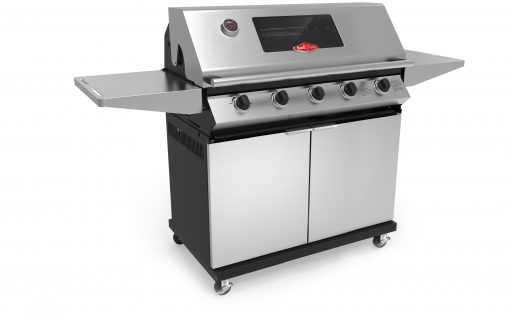 BD5202SX BeefEater 5 Burner Chrome Chassis Gas Barbecue 1000 Series 1 | Avant garden