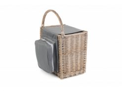 FH098 Salcombe Beach Hamper Full Antique Wash Finish Willow 1 | Avant Garden