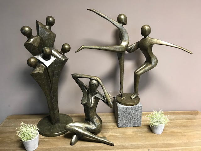 Solid Bronze Modern & Abstract Sculptures 1 | Avant Garden
