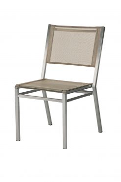 1EQ.502 Equinox Side Chair Titanium Sling & Graphite Frame by Barlow Tyrie 1 | Avant Garden