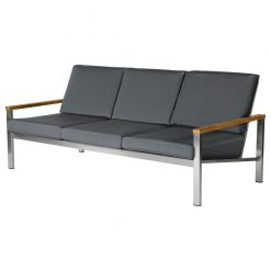 Equinox Three Seater Sofa Deep Seating Lounge by Barlow Tyrie 2 | Avant Garden