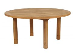 Drummond 150 Circular Solid Teak Dining Table by Barlow Tyrie (1) | Avant Garden
