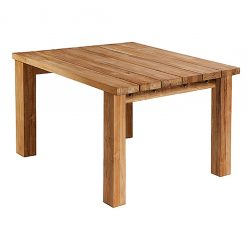 Titan Square Dining Table Rustic Teak by Barlow Tyrie 8 | Avant Garden