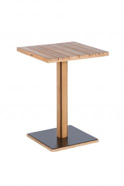 Titan High Dining Table Rustic Teak by Barlow Tyrie (2) | Avant Garden