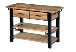 Titan Serving Table Rustic Teak (7) | Avant Garden