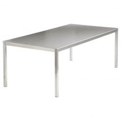 Equinox 2x1m Dusk Ceramic Top Table by Barlow Tyrie 1 | Avant Garden