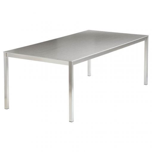 Equinox 2x1m Dusk Ceramic Top Dining Table by Barlow Tyrie 1 | Avant Garden