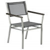 Equinox Armchair Platinum Sling by Barlow Tyrie 1 | Avant Garden