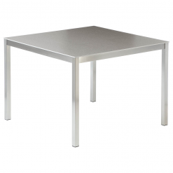 Equinox Dining Table 100cm Dusk Ceramic Top by Barlow Tyrie 1 | Avant Garden