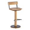 Titan High Dining Rustic Teak Chair by Barlow Tyrie 1 | Avant Garden