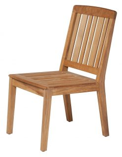 Chesapeake Dining Chair Solid Teak by Barlow Tyrie (1) | Avant Garden