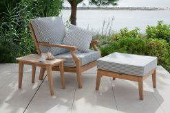 Chesapeake Outdoor Lounge Deep Seating Suite Lifestyle by Barlow Tyrie (1) | Avant Garden