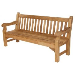 Rothesay 180 Seat Solid Teak Garden Bench by Barlow Tyrie (1) | Avant Garden