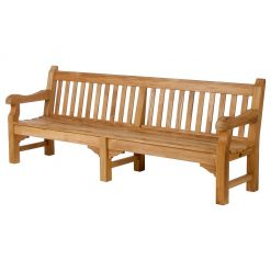 Rothesay 240 Seat Solid Teak Garden Bench by Barlow Tyrie (1) | Avant Garden