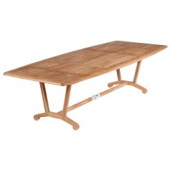Chesapeake 280 Dining Table Solid Teak by Barlow Tyrie (1) | Avant Garden