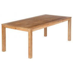 Linear 200 Dining Table Rectangular Solid Teak by Barlow Tyrie (1) | Avant Garden