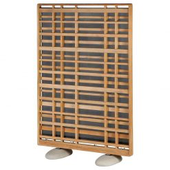 Woodland 120 Portrait Solid Teak Screen by Barlow Tyrie (1) | Avant Garden
