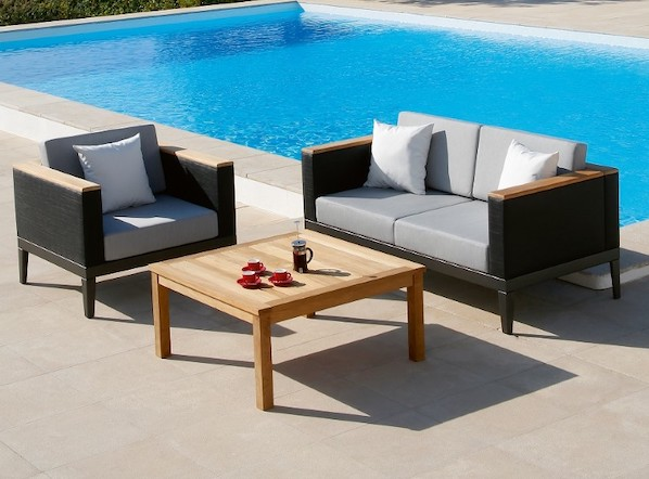 Aura Deep Seating Modular Outdoor Lounge Furniture Suite by Barlow Tyrie 1 | Avant Garden
