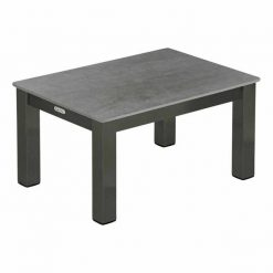 Equinox 49 Graphite Powder Coated SS Lounger Table by Barlow Tyrie (1) | Avant Garden