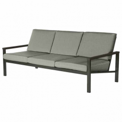 Equinox Carbon Three Seater Settee Deep Seating Lounge by Barlow Tyrie (1) | Avant Garden
