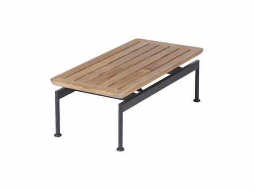 Layout 80 Narrow Low Table by Barlow Tyrie (1) | Avant Garden