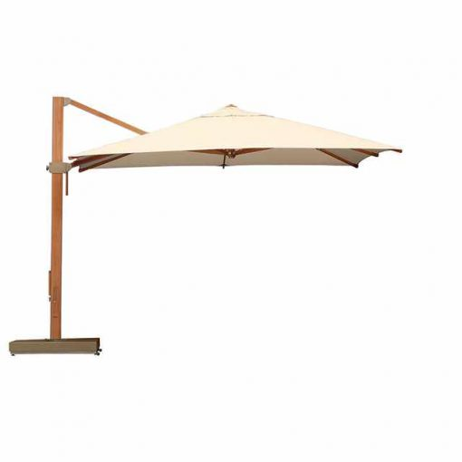 Napoli Cantilever 3.5m Parasol Canvas Coloured Canopy by Barlow Tyrie (1) | Avant Garden
