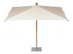 Napoli 300 Square Parasol Canvas Color Telescopic Pole by Barlow Tyrie (1) | Avant Garden
