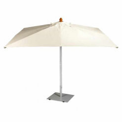 Sail Parasol Rectangular 3m x 2.2m Sunbrella Waterproof Canvas Sunshade by Barlow Tyrie (1) | Avant Garden