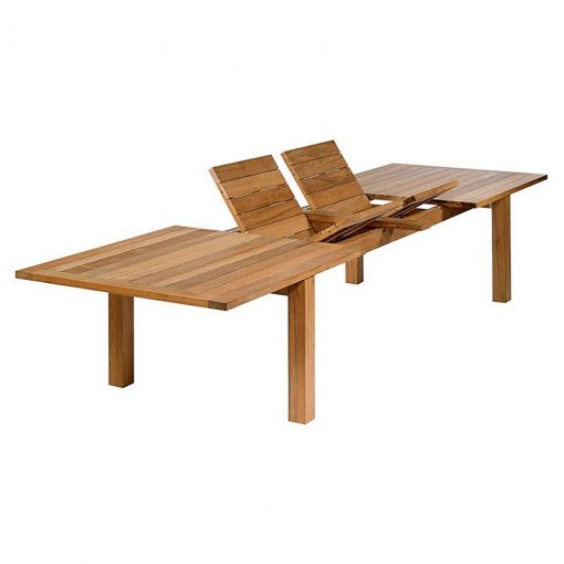 Apex Extending Dining Table 390 Solid Teak by Barlow Tyrie (1) | Avant Garden