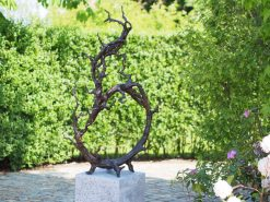 Twiggy Fine Cast Solid Bronze Sculpture 133cm (1) | Avant Garden