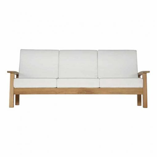 Haven Three Seater Settee Deep Seating Lounge by Barlow Tyrie 1 | Avant Garden