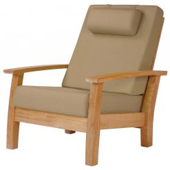 Haven Reclining Armchair Deep Seating Lounge Outdoor Furniture by Barlow Tyrie 1 | Avant Garden