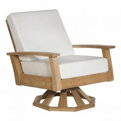 Haven Swivel Rocker Deep Seating Outdoor Lounge Furniture by Barlow Tyrie 1 | Avant Garden