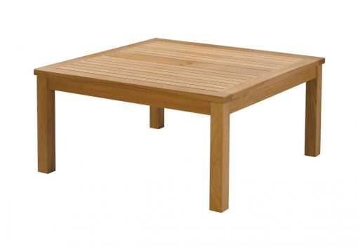 Haven Square 100 Conversation Table Solid Teak by Barlow Tyrie 1 | Avant Garden