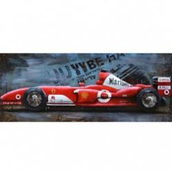 3D Metal Wall Art F1 Painting