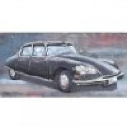 3D Metal Wall Art French Car Painting