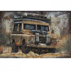 3D Metal Wall Art Jeep Painting 1