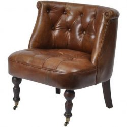 Belmont Vintage Leather Chair light brown 1