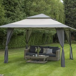 84800 Avant Garden Easy Pop Up Gazebo Grey 1 Avant Garden Guernsey