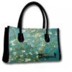 Hand Bag Almond Blossoms by Van Gogh