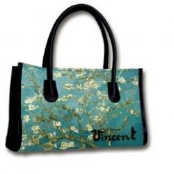 Hand Bag Almond Blossoms by Van Gogh 1