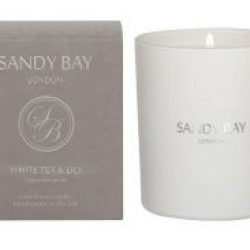 Sandy Bay London White Tea & Lily Candle 30cl