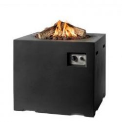 Happy Cocooning Cocoon Small Square Gas Fire Pit