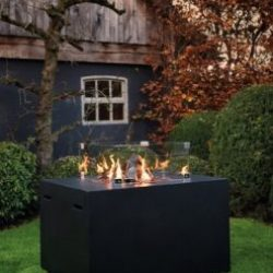 Happy Cocooning Cocoon Lounge & Dining Rectangular Gas Fire Pit