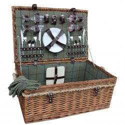 FH082 Avon Picnic Hamper Four Person 1 Avant Garden Guernsey