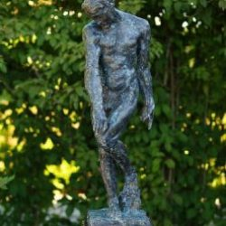 Bronze Sculpture Adam (Rodin) 88cm