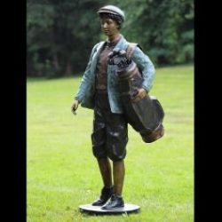 Bronze Sculpture Golfer 162cm