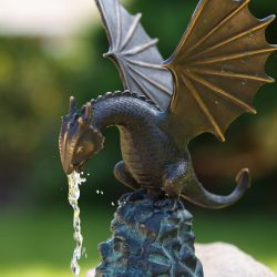 Bronze Fountain Sculpture Dragon Little
