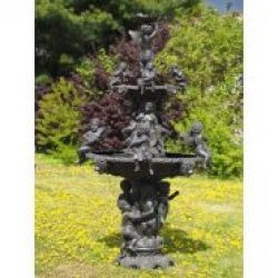 FO 72 Fine Cast Bronze Sculpture Angel Fountain XL 1 Avant Garden Guernsey